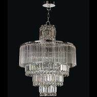 Dale Tiffany GH12114 Rossborough Polished Chrome Pendant Light Fixture