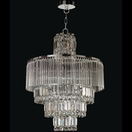 Dale Tiffany GH12114 Rossborough Polished Chrome Foyer Lighting