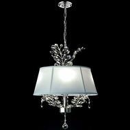 Dale Tiffany GH14215 Crawford Polished Chrome Drop Lighting