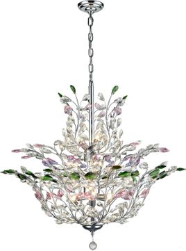 Dale Tiffany GH16099 Monaco Polished Chrome Chandelier Light
