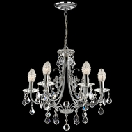 Dale Tiffany GH70288 Indiana Ice Polished Chrome Mini Ceiling Chandelier