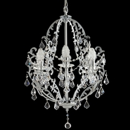 Dale Tiffany GH70380 Buchanon Polished Chrome Mini Hanging Chandelier