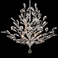 Dale Tiffany GH90289 Monaco Polished Chrome Chandelier Light