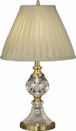 Dale Tiffany GT10367 Savoy Antique Brass Table Lighting