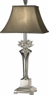 Dale Tiffany GT11218 Paseo Polished Nickel Table Lamp Lighting