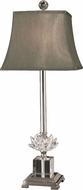 Dale Tiffany GT11258 Lucinda Polished Nickel Lighting Table Lamp