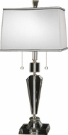 Dale Tiffany GT12079 Danbrook Satin Nickel Table Top Lamp