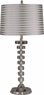 Dale Tiffany GT12211 Culver Nickel Table Light