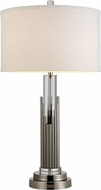 Dale Tiffany GT12273 Sterling Satin Nickel Lighting Table Lamp