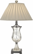 Dale Tiffany GT13261 Labelle Antique Nickel Table Lamp Lighting