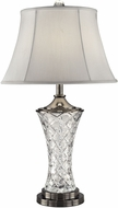 Dale Tiffany GT13266 Rockledge Antique Nickel Table Lighting