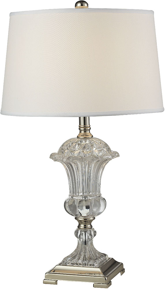Dale tiffany gt14268 crystal orb polished nickel table lamp dal dale tiffany gt14268 crystal orb polished nickel table lamp loading zoom aloadofball