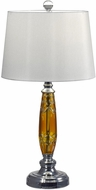 Dale Tiffany GT17088 Autumn Lake Polished Chrome Table Light