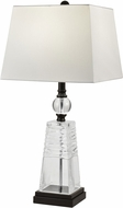Dale Tiffany GT18315 Caden Ebony Black Table Lamp Lighting