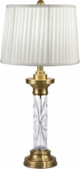 Dale Tiffany GT18319 Ailin Antique Brass Side Table Lamp