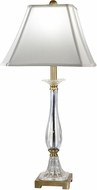 Dale Tiffany GT18327 Tapani Antique Brass Table Lamp