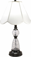 Dale Tiffany GT18330 Ela Ebony Black Lighting Table Lamp