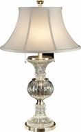 Dale Tiffany GT60653 Granada Brushed Nickel Table Lamp Lighting