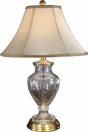 Dale Tiffany GT70417 Jefferson Antique Brass Table Light