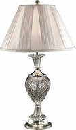 Dale Tiffany GT70463 Yorktown Polished Nickel Table Lighting