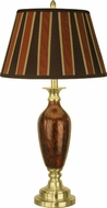 Dale Tiffany PG10361 Art Glass Antique Brass Table Lamp Lighting