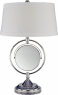 Dale Tiffany PT12301 Contessa Chrome Table Lamp Lighting
