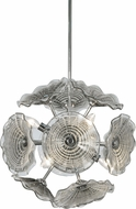 Dale Tiffany SAH16079 Almond Contemporary Polished Chrome Lighting Pendant