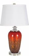 Dale Tiffany SAT16003LED Daiquiri Clear LED Lighting Table Lamp