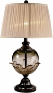 Dale Tiffany SAT16005LED Bonnie Oil Rubbed Bronze LED Table Top Lamp