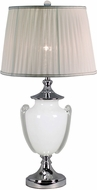 Dale Tiffany SAT16008LED Alaska Polished Chrome LED Side Table Lamp