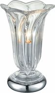 Dale Tiffany SGA17055 Orbicular Polished Nickel Accent Lamp