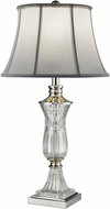 Dale Tiffany SGT16161 Dagmar Polished Chrome Table Lamp Lighting