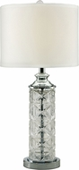 Dale Tiffany SGT17036 Kaia Polished Chrome Side Table Lamp
