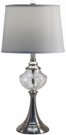 Dale Tiffany SGT17073 Harper Brushed Nickel Table Light