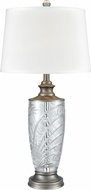 Dale Tiffany SGT17160 Festival Antique Nickel Table Lamp Lighting