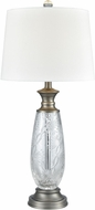 Dale Tiffany SGT17163 Impressionable Antique Nickel Table Lamp