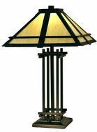 Dale Tiffany STT15101LED Henderson Tiffany Tiffany Bronze LED Table Lamp Lighting