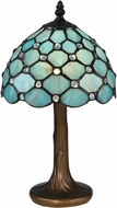 Dale Tiffany STT16090 Castle Point Contemporary Antique Bronze Side Table Lamp