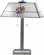 Dale Tiffany STT16214 Mack Rose Silver Table Light