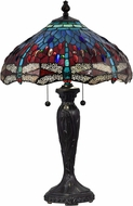 Dale Tiffany STT18142 Gilder Tiffany Fieldstone Table Lamp