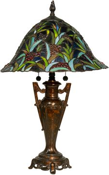 Dale Tiffany STT18236 Napa Tiffany Fieldstone Lighting Table Lamp
