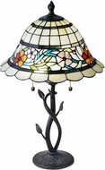 Dale Tiffany STT18311 Anani Tiffany Antique Bronze Side Table Lamp
