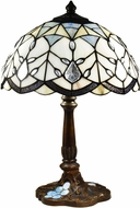 Dale Tiffany STT19061 Giulia Tiffany Antique Bronze Table Lamp Lighting