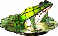 Dale Tiffany TA101231 Frog Lily Pad Contemporary Table Lamp