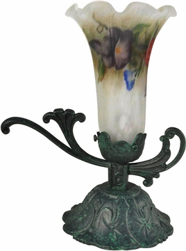 Dale Tiffany TA15010 Lily Antique Verde Novelty Lamp