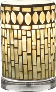 Dale Tiffany TA15016 Palisades Clear Accent Table Top Lamp