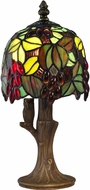 Dale Tiffany TA15058 Grape Vine Tiffany Antique Brass Accent Lighting