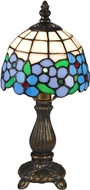 Dale Tiffany TA15089 Daisy Tiffany Antique Brass Accent Lighting