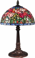 Dale Tiffany TA15153 Tulip Tiffany Antique Bronze Accent Lamp