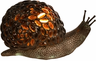 Dale Tiffany TA15174 Jewel Snail Modern Antique Bronze Accent Lighting
